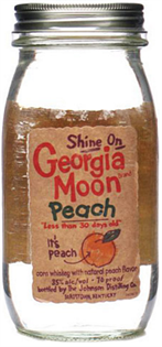 Georgia Moon Peach 750ml